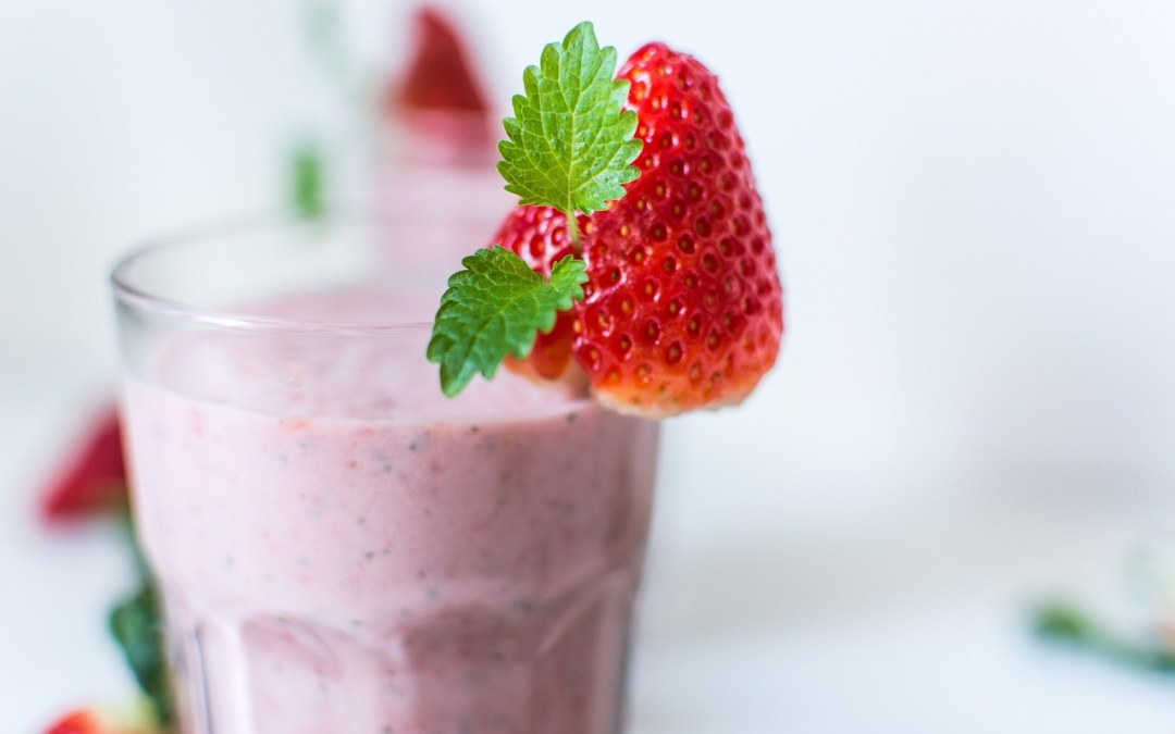 Strawberry Sensation Smoothie