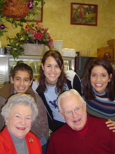 Dr. & Mrs. McKey, would always make the time to meet with us. Here I am with my two youngest, Brittney & Blake, in 2004.
