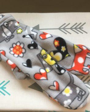Fleece Slipper Socks – Cartoon Dogs