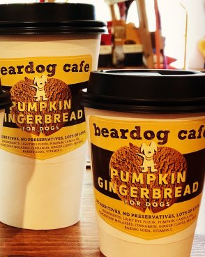 Beardog Cafe Pumpkin Gingerbread for Dogs