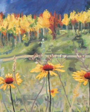 Autumn Gaillardia Art Card