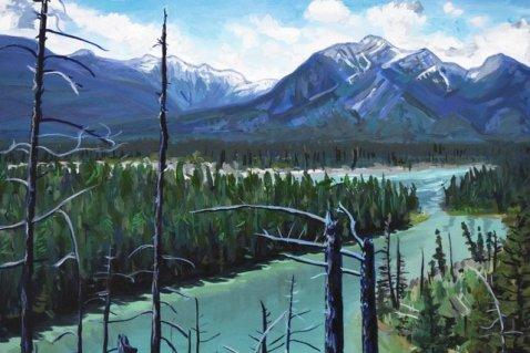Uplanders Trail Art Card