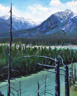 Uplander Trail Art Card