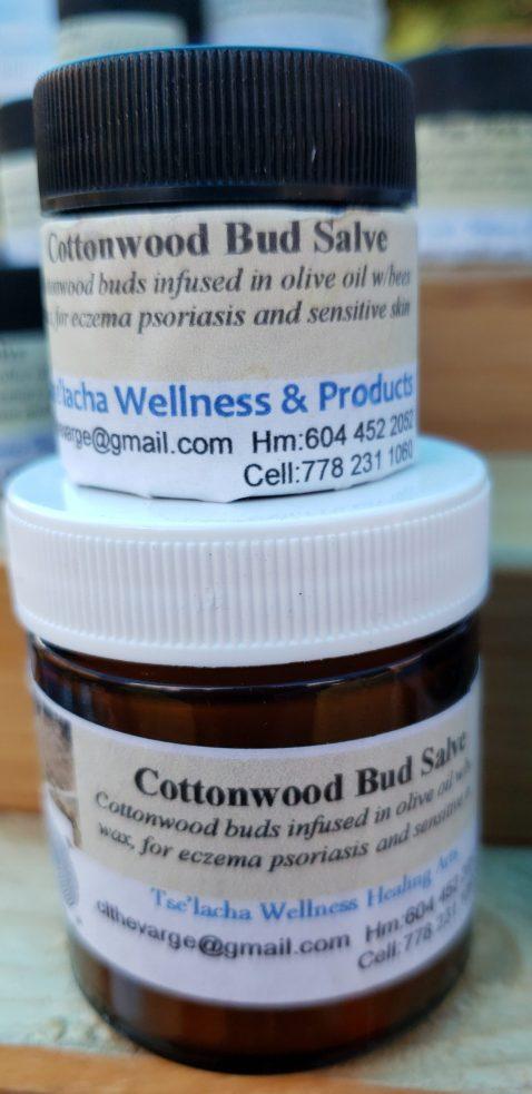 Tselacha Wellness Cottonwood Bud Salve