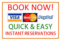 We accept online bookings