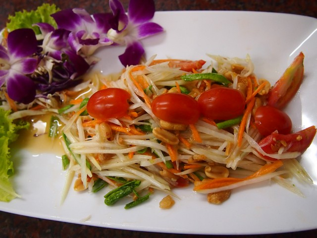 spicy Thai salad Sm Tam