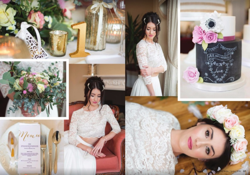 Image of Lilly Dilly's featured in Inspired Brides Spring 2016 magazine