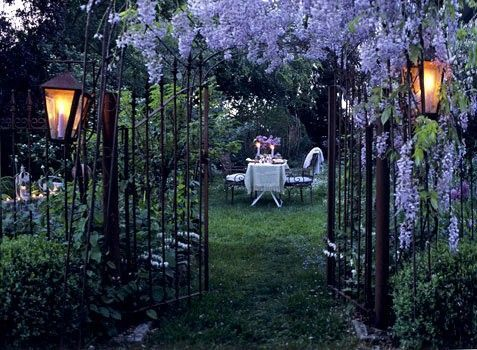 Outdoor Dining, Provence, France