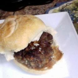 Bbq Grilling – Red White And Blue Burgers