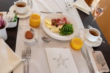 Frühstück im Hotel Bellevue