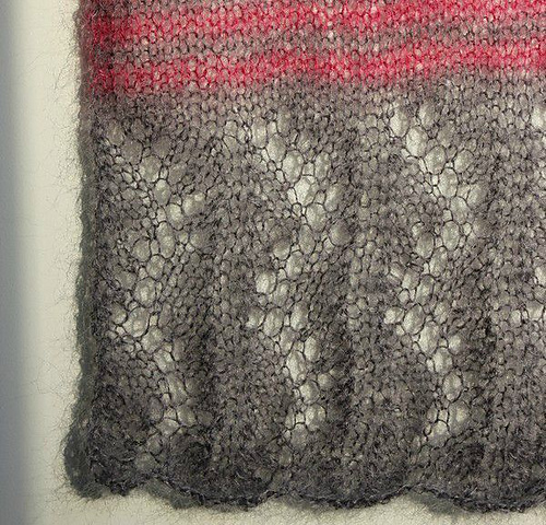 Modele de tricot d'écharpe