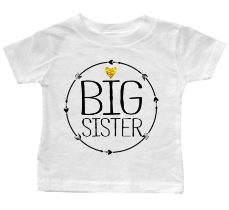 big-sisiter-circle-arrow-White-Baby-Tee