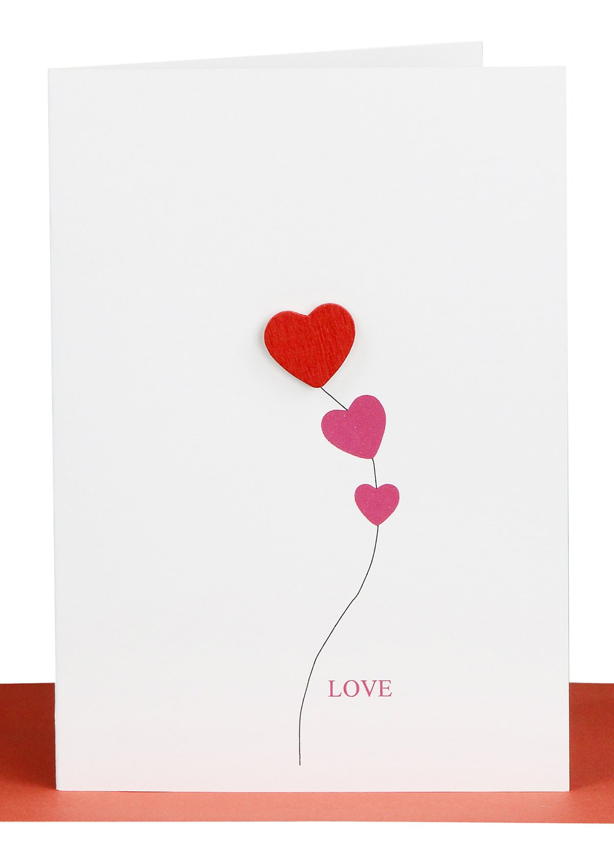Valentines Day Cards Love Card Red Heart Lils Cards Sydney