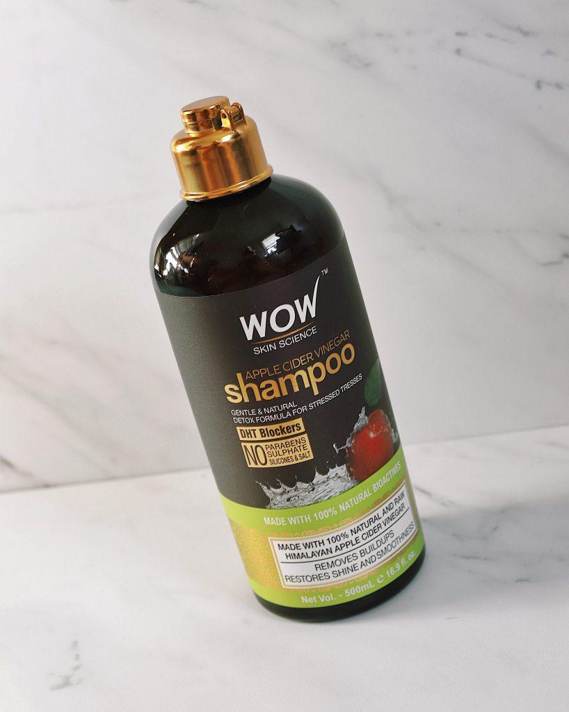 wow science shampoo