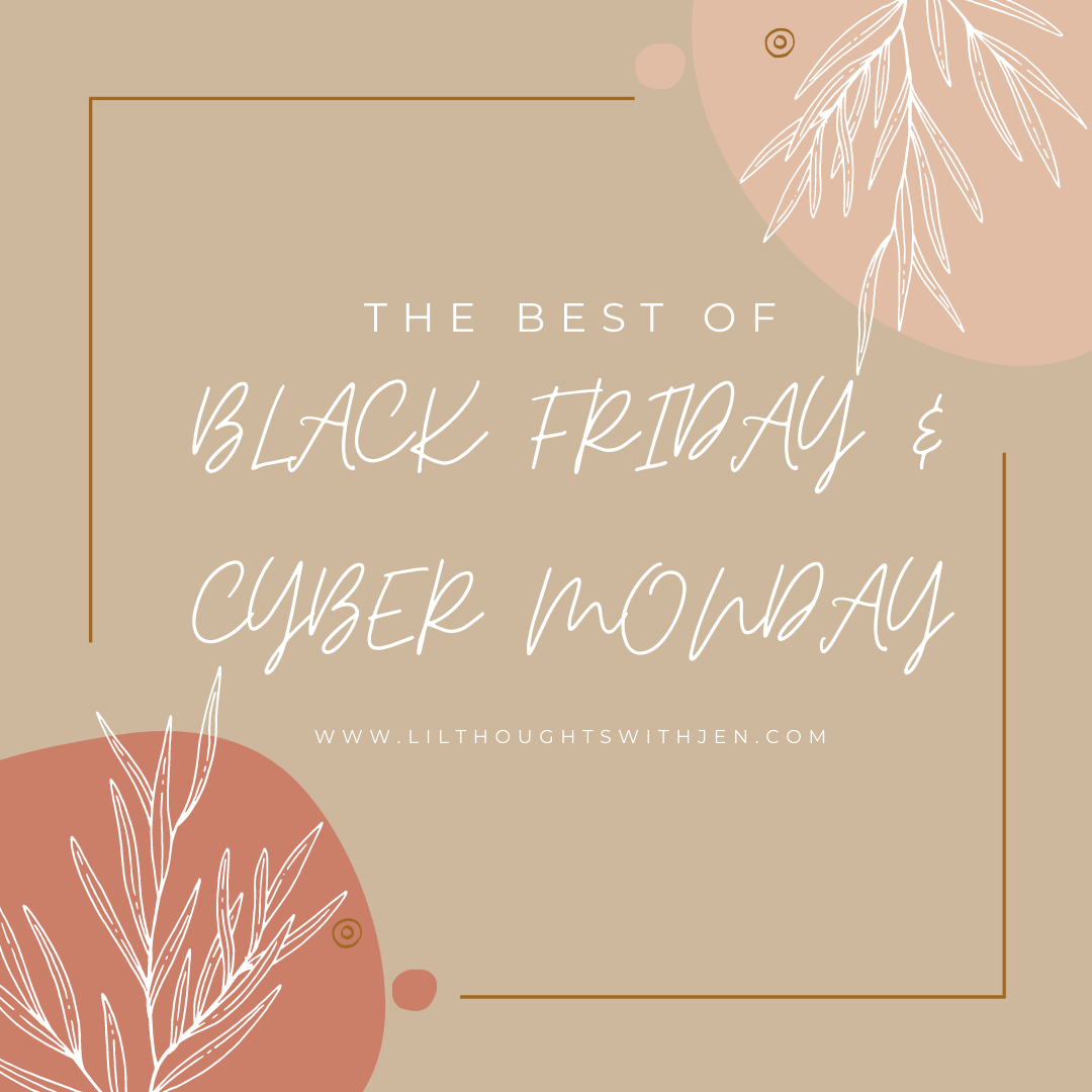 2020 black friday and cyber monday deals