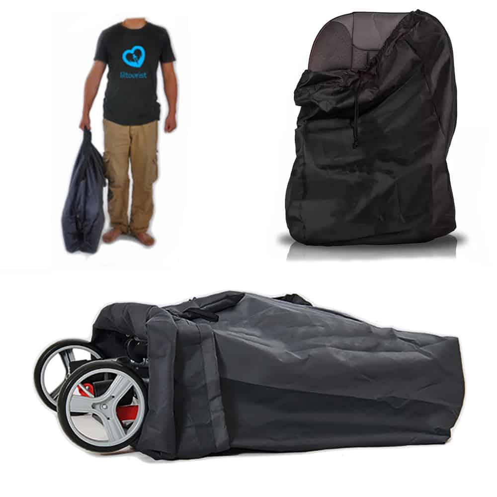 liltourist Transporttasche schwarz neu