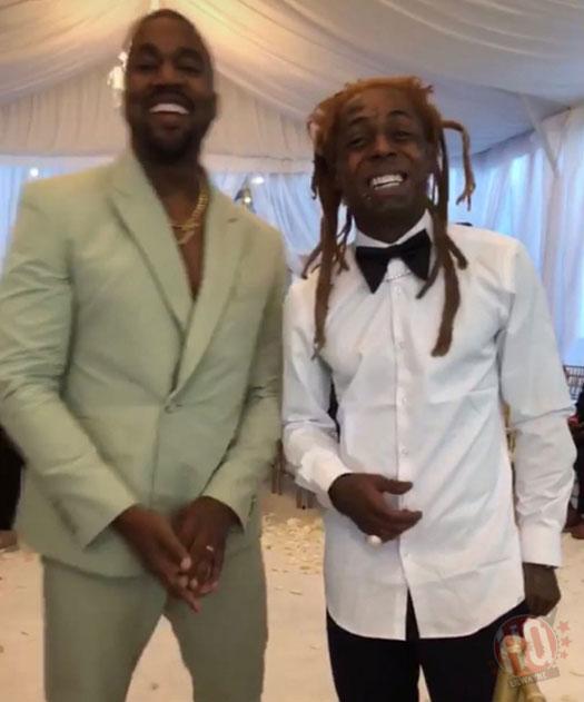 Lil Wayne Attends 2 Chainz Amp Kesha Wards Wedding In Miami