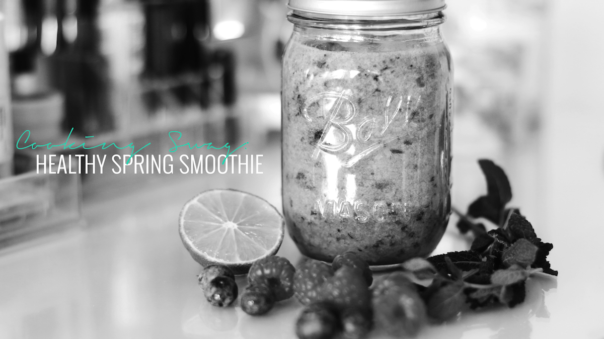 COOKING SWAG HEALTHY SPRING SMOOTHIE RECIPE LIFESTYLE NAPPY HAIRZ