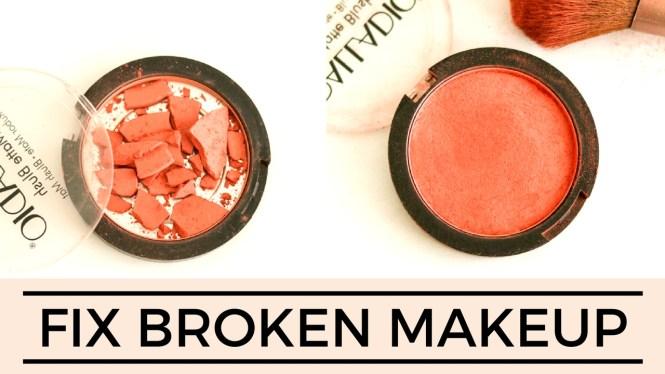 Fix broken makeup
