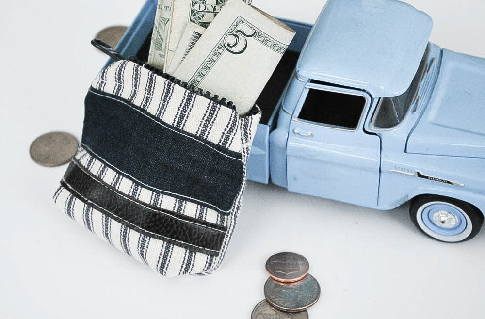 DIY Wallet for your little guy