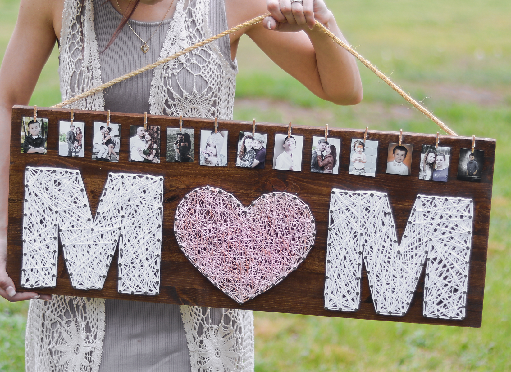 Homemade mother 39 s day gift idea diy rose gold gift Cheap mothers day gift ideas to make