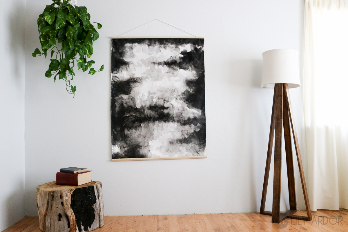 DIY Abstract Art ( Fluid Painting )