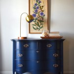 Navy Dresser Makeover Fusion Midnight Blue Lily Field Co