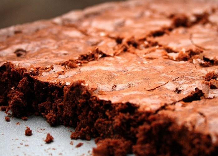 Deep Dark Chocolate Fudge Brownies