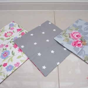 Floral cushion covers handmade to order Lilymae Designs