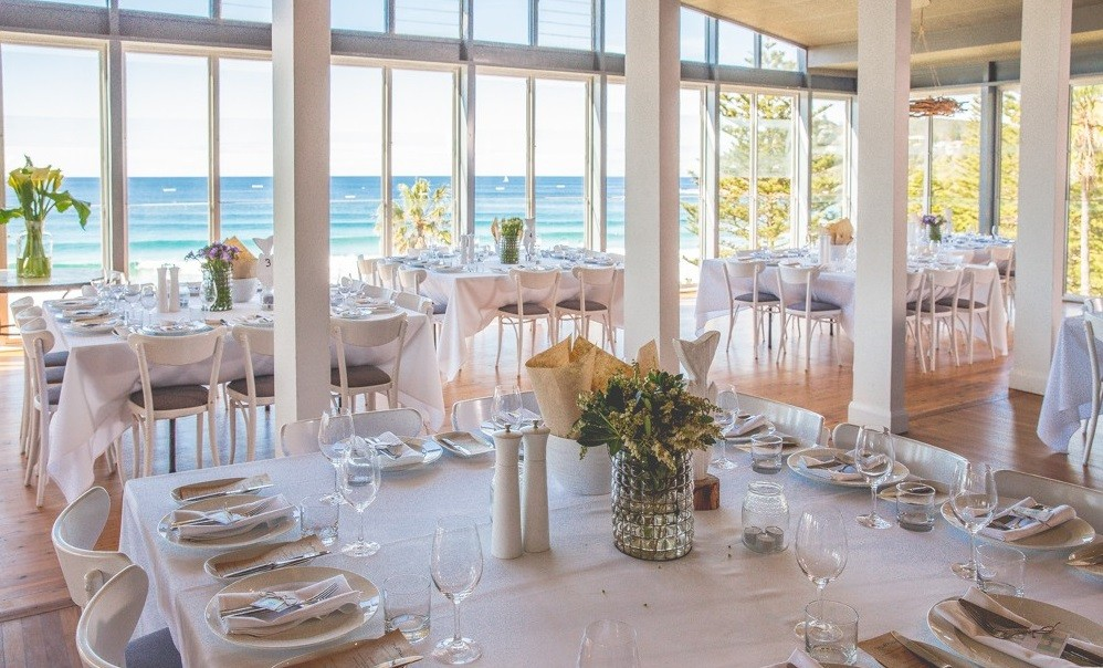 Moby Dicks Whale Beach is the Perfect Setting for your Fabulous Beach Wedding