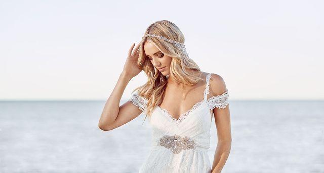wedding dress perfection: Choices abound in Sydney.