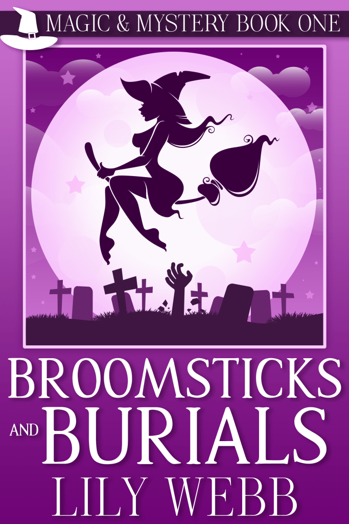 Broomsticks and Burials Cover