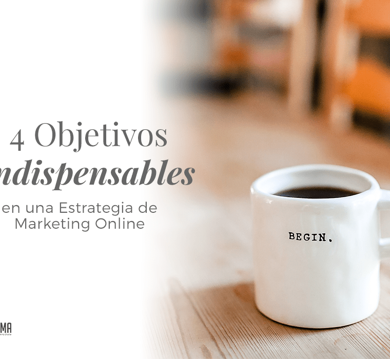 4 Objetivos de Marketing Digital