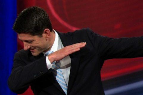 Image Paul Ryan dabbing 01