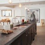 20 Ideias Para Bancadas De Cozinha Em Concreto Para Voce Se Inspirar Limaonagua