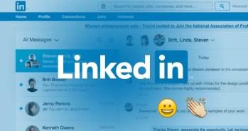 Linkedin New UI