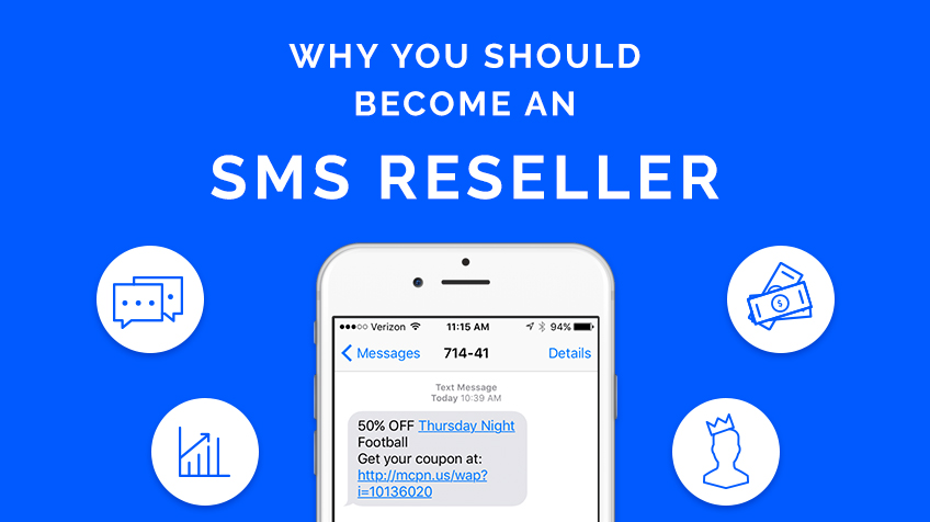 Image result for The advantages of become a SMS reseller