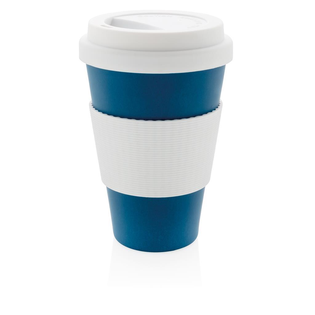 Branded Eco Bamboo Fibre Cup Promotional Eco Friendly Travel Mug