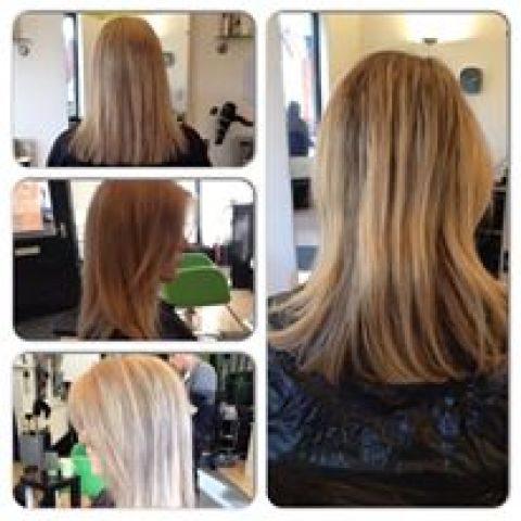 Ashy Blonde Highlights To Solid Beige Blonde