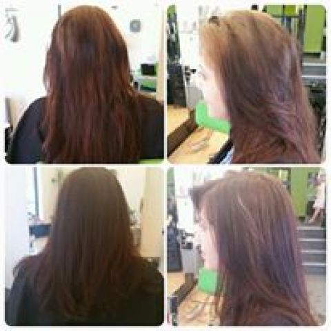 Chocolate Brown Colour Correction