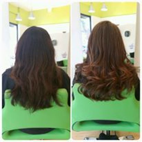 Caramel Brown Highlights