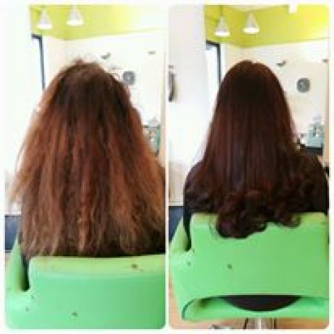 Chestnut Brown Colour Correction