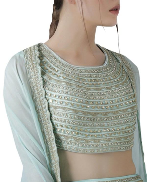 embroidered-cape-lehenga