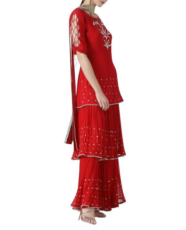 red-embroidered-sharara-set