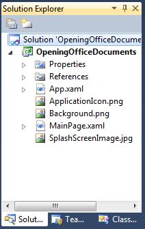 Missing sln file in Solution Explorer - 3