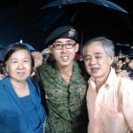 Dad, Mum and myself!