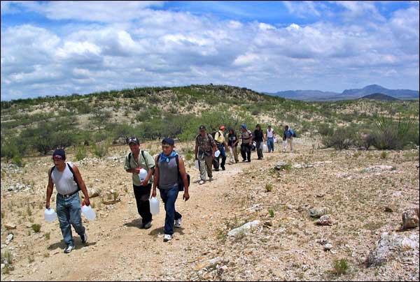 Image result for immigrants crossing the border