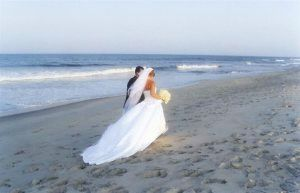 Image of Westport wedding on the beach
