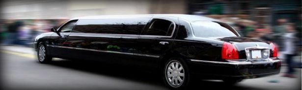 Image of Black Milford Stretch Limousine
