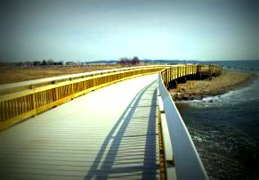 Picture of Silver Sands Boardwalk in Milford